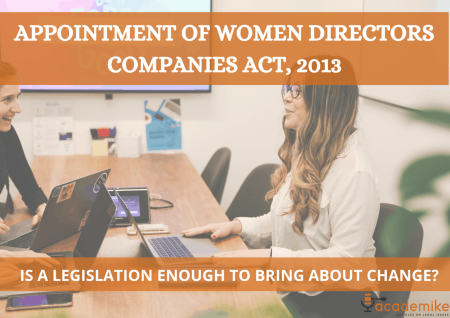 Mandatory Appointment of Woman Director under Companies Act, 2013: A Feminist Critique
