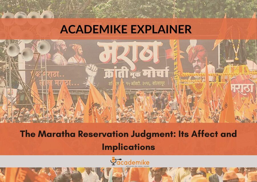 maratha reservation judgment