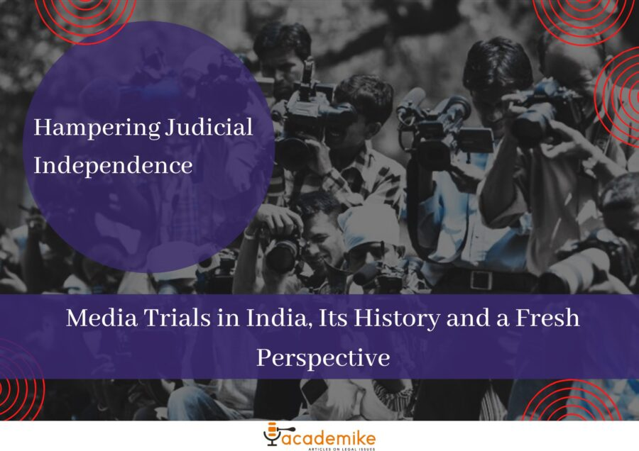 media trials in India