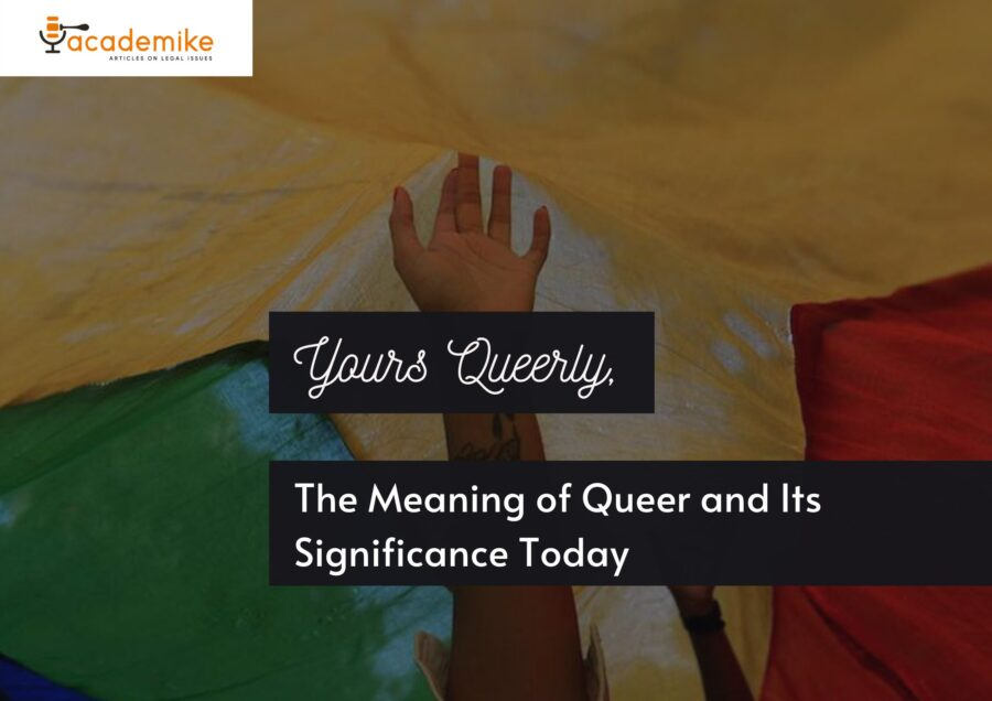 Meaning of queer