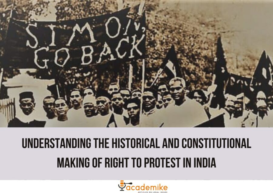 right to protest in India
