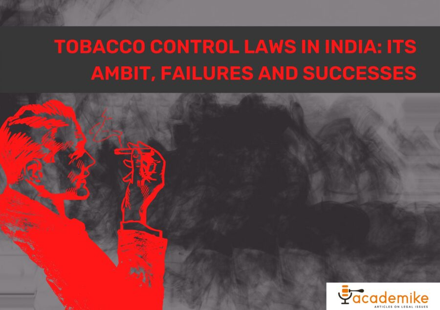 tobacco control laws in India