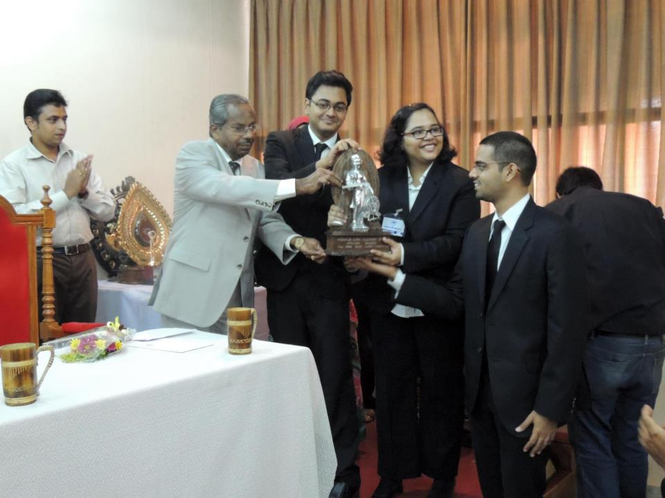 moot court winning team, kerala law academy moot