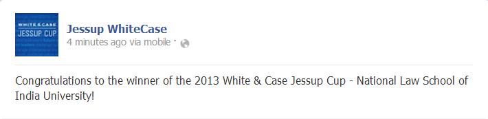 nlsiu bangalore wins jessup 2013