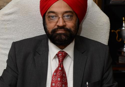 Vice Chancellor Gurdip Singh. Joined RMLNLU on 03rd May 2013