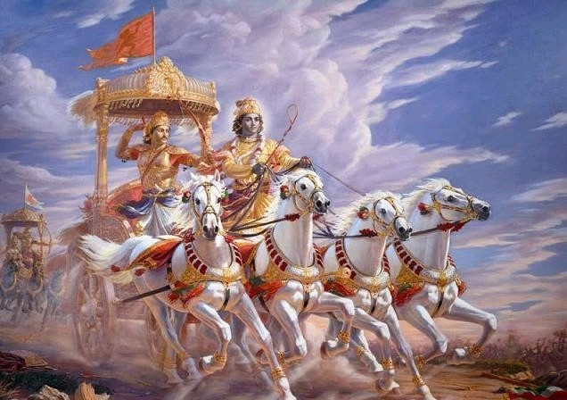 1. Everyone is confused; even Arjuna was 2. If there is no confusion, there is no Krishna