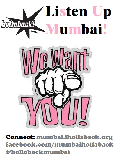 hollaback mumbai, campyus ambassador program