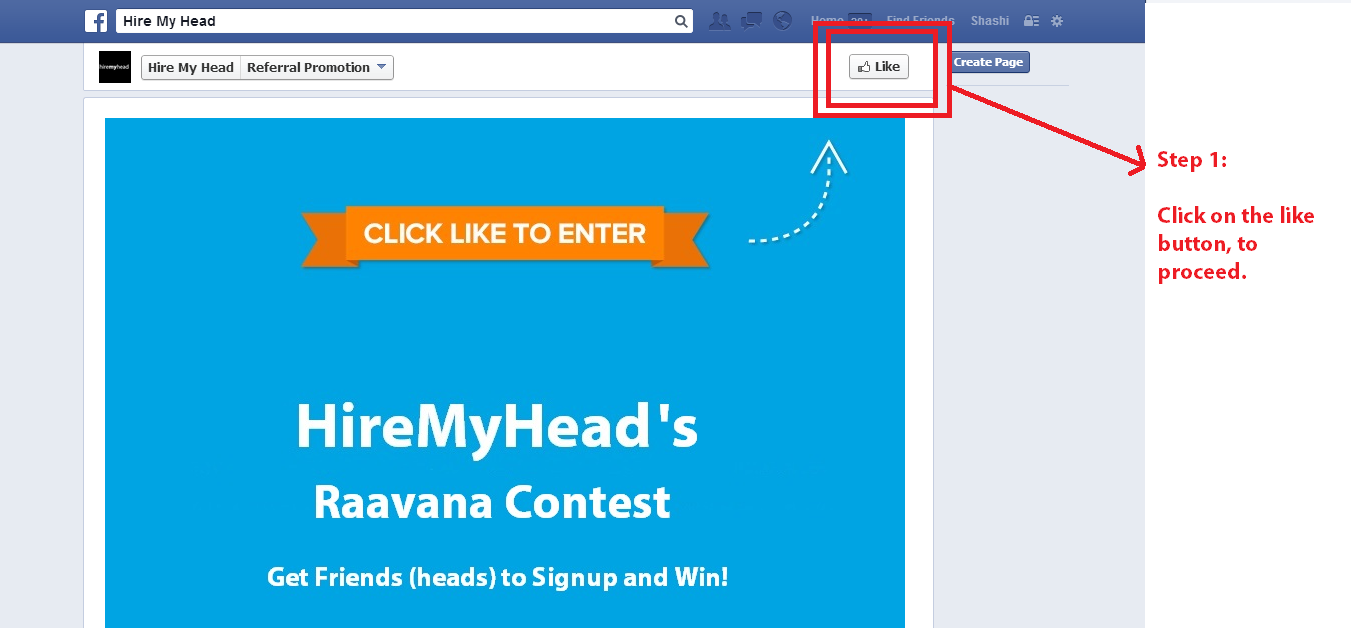 hiremyhead raavana friend referral contest