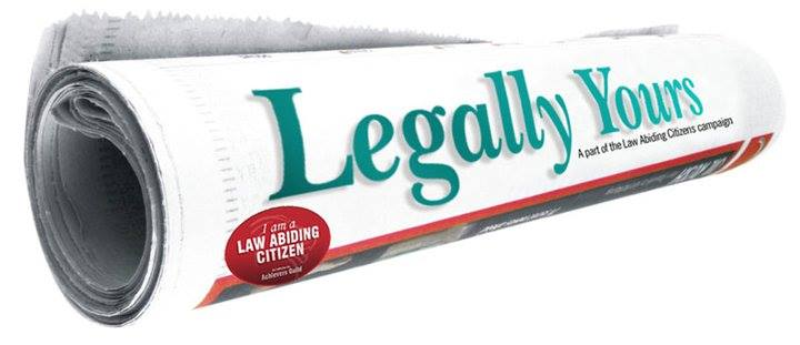 legally yours, legal newspaper, law newspaper