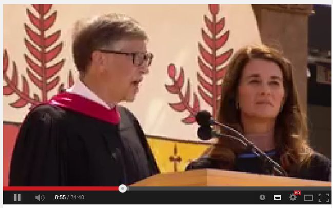 bill gates and melinda gates stanford commencement address 2014