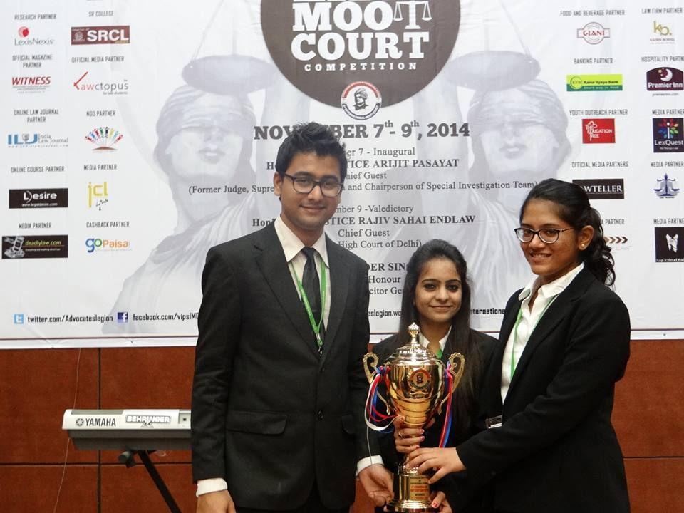 Interview: Winners of VIPS International Moot [Nirma University]; DOWNLOAD MEMORIALS