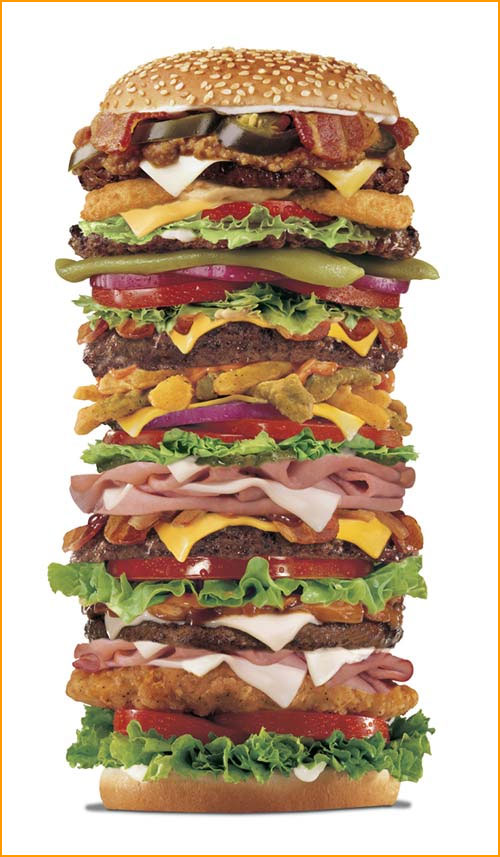 It's your burger, make it large!