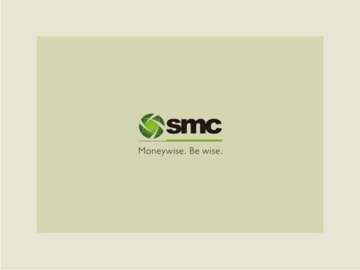 Internship Experience @ SMC Global Securities Ltd, Delhi