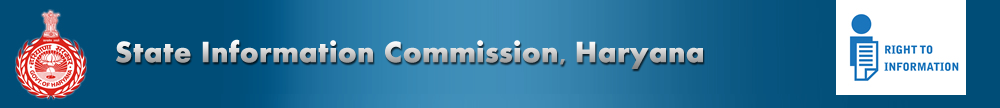 Internship Experience @ State Information Commission, Haryana