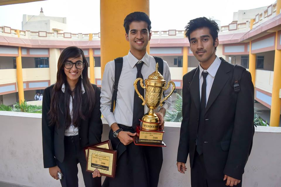 Interview of the NLIU Bhopal's Team which Won the CLEA Moot