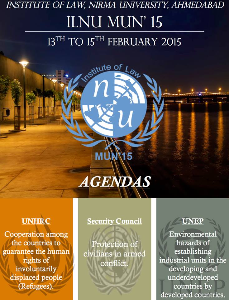 nirma university, model united nations