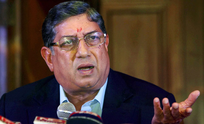 N Srinivasan, IPL Corruption Case, Supreme Court Judgment