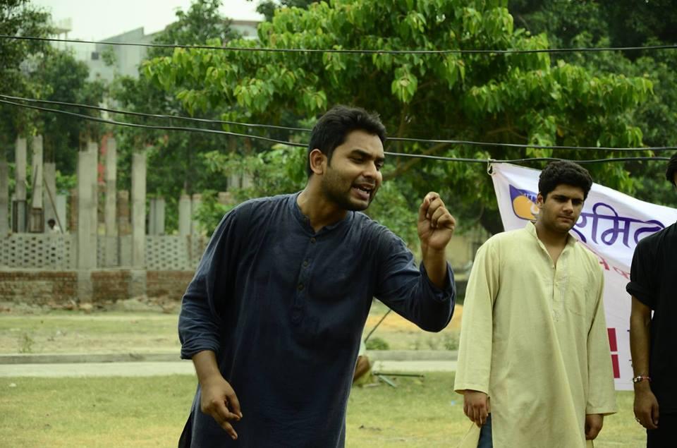 <b>Career Talk with Kumar Shanu, Student of Amity Law School, Noida</b> [Centre II]: On Establishing a Legal Aid Cell, Internship with Arvind Kejriwal