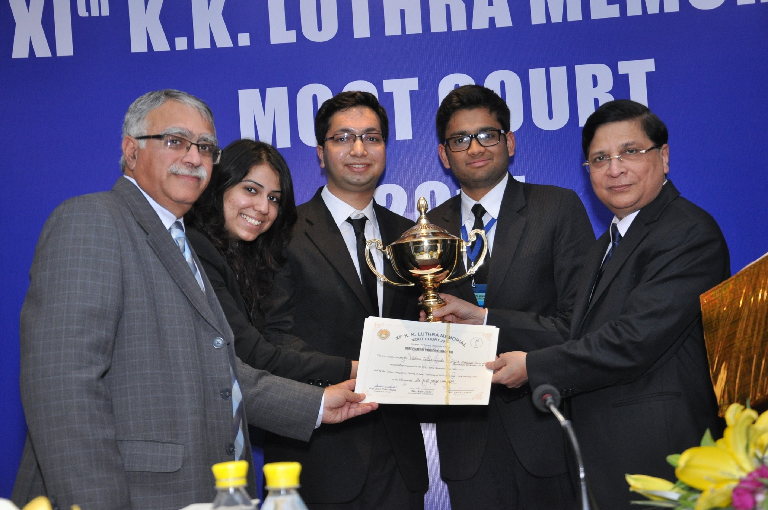 Interview: Winning Team [NUJS Kolkata] of KK Luthra National Moot 2015