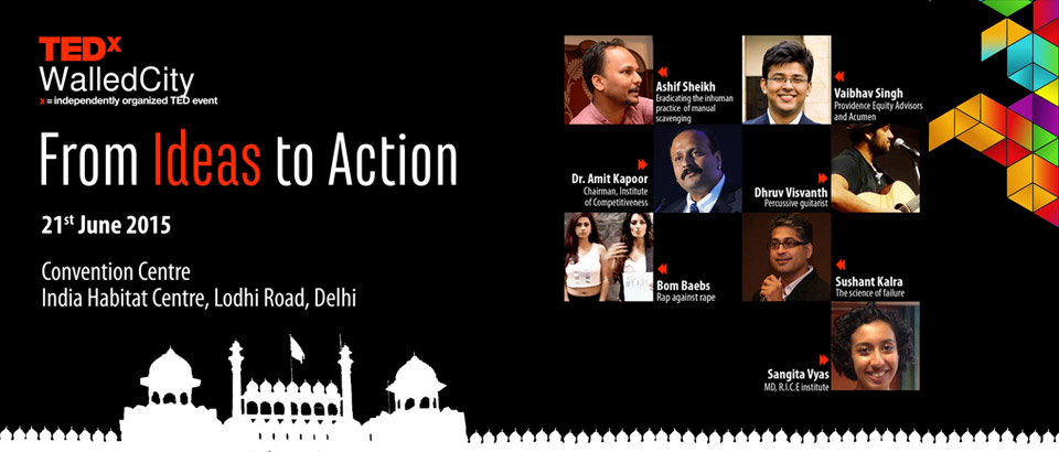 tedxwalled city new delhi 2015