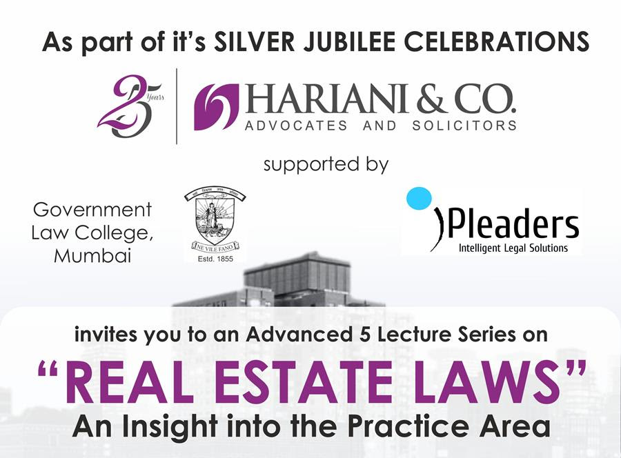 real estate laws lecture series