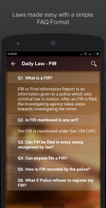 daily laws app