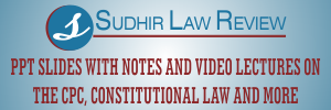 sudhir law review