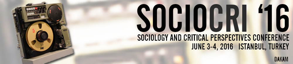 Call for Papers: SOCIOCRI 16: 3rd International Conference