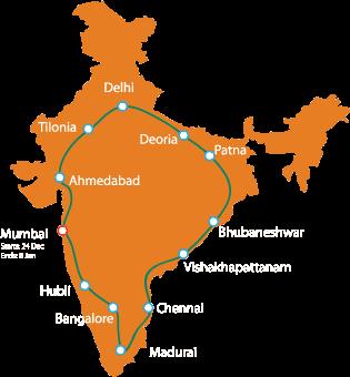 Jagriti Yatra, Jagriti Yatra 2015 Registration
