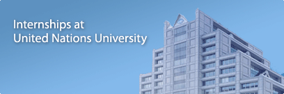 Internship Opportunity: Junior Fellow [6 months] at the <b>United Nations University Office of the Rector, Tokyo</b>: Apply by Oct 25