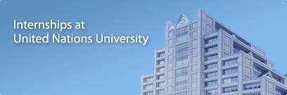 Internship Opportunity @ UNU Office of the Rector, Tokyo, law internship