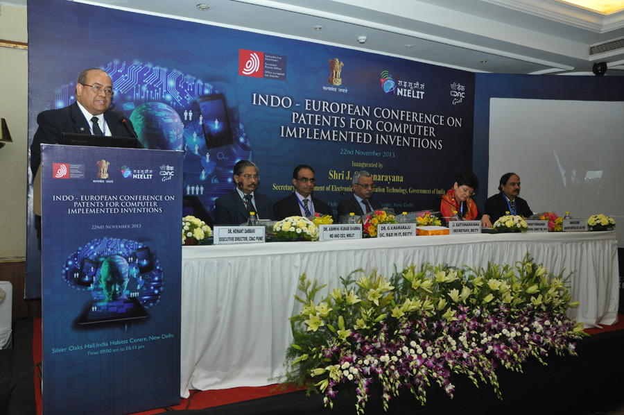 India-Europe Conference on Building a Sustainable ICT-IPR Ecosystem for Promoting Innovation Bangalore