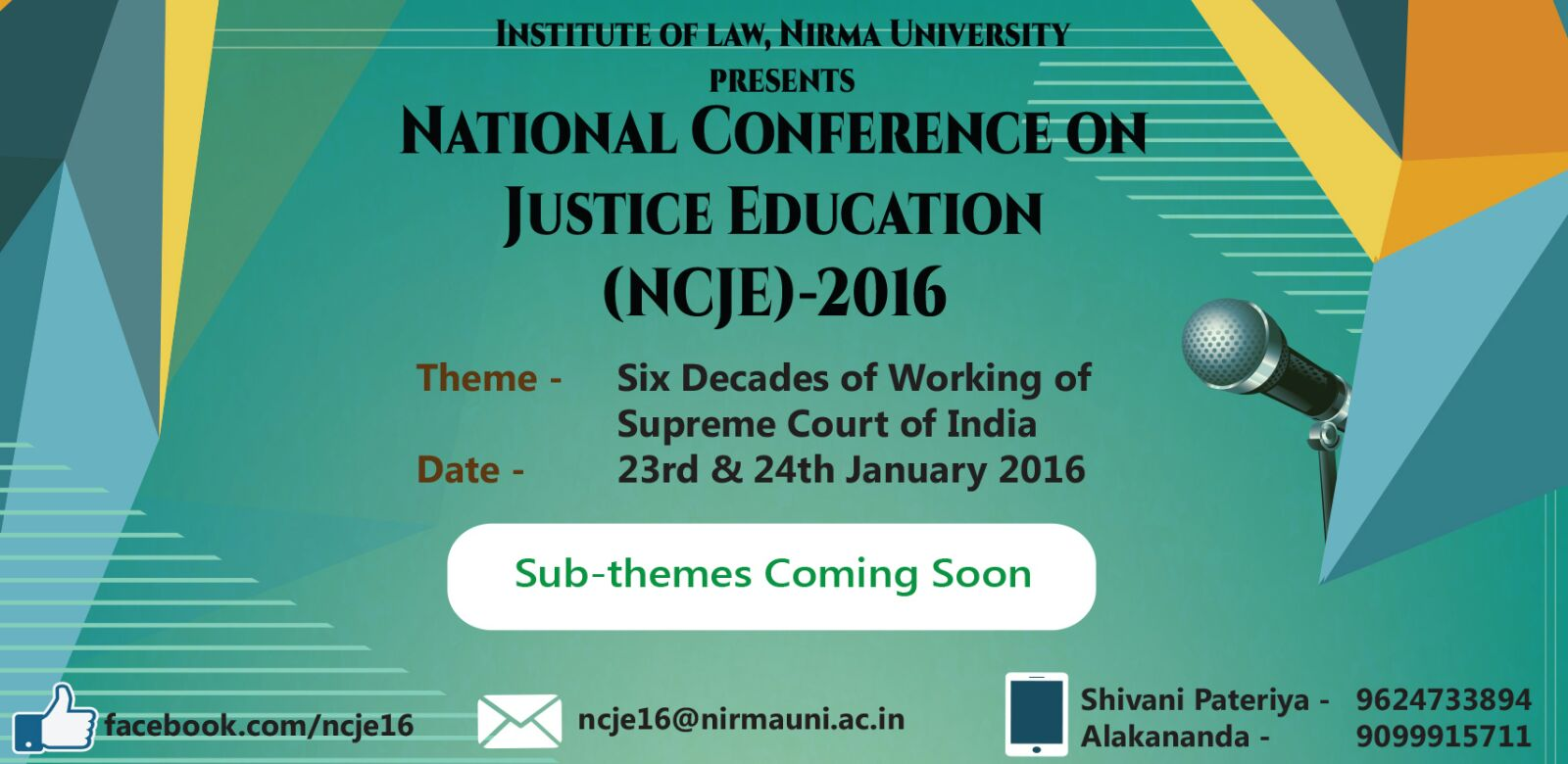 Conference on Justice Education