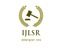 International Journal of Legal Sciences and Research