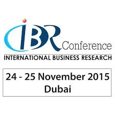 Call for papers 21st international business research conference