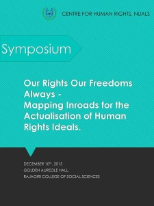 CHR, NUALS Human Rights Day Symposium: Dec 10