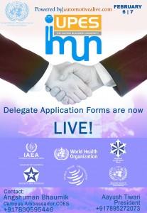 UPES International Model United Nations 2016