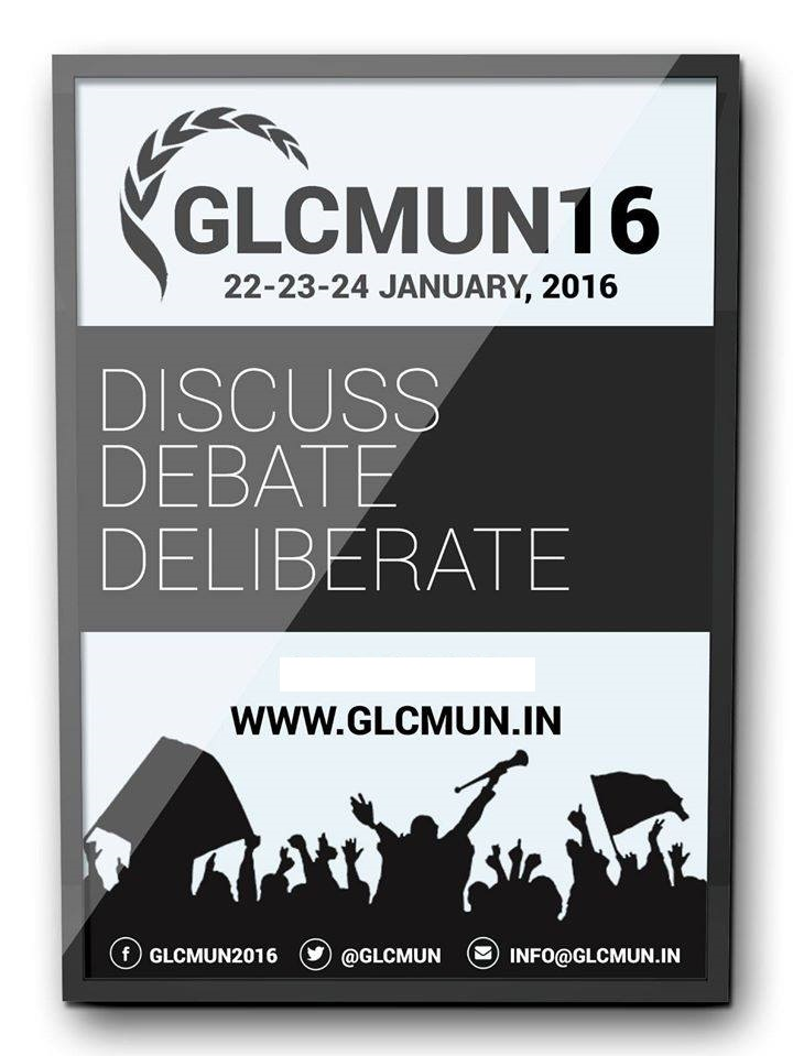 8th GLC Model United Nations 2016 (Jan 21-24)