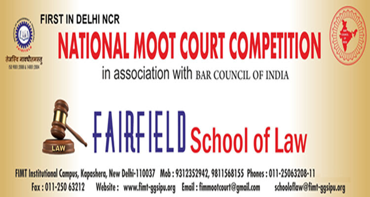 FIMT Inter-University Moot Court Competition, 2016