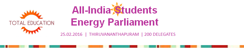 GEP All India Students Energy Parliament 2016