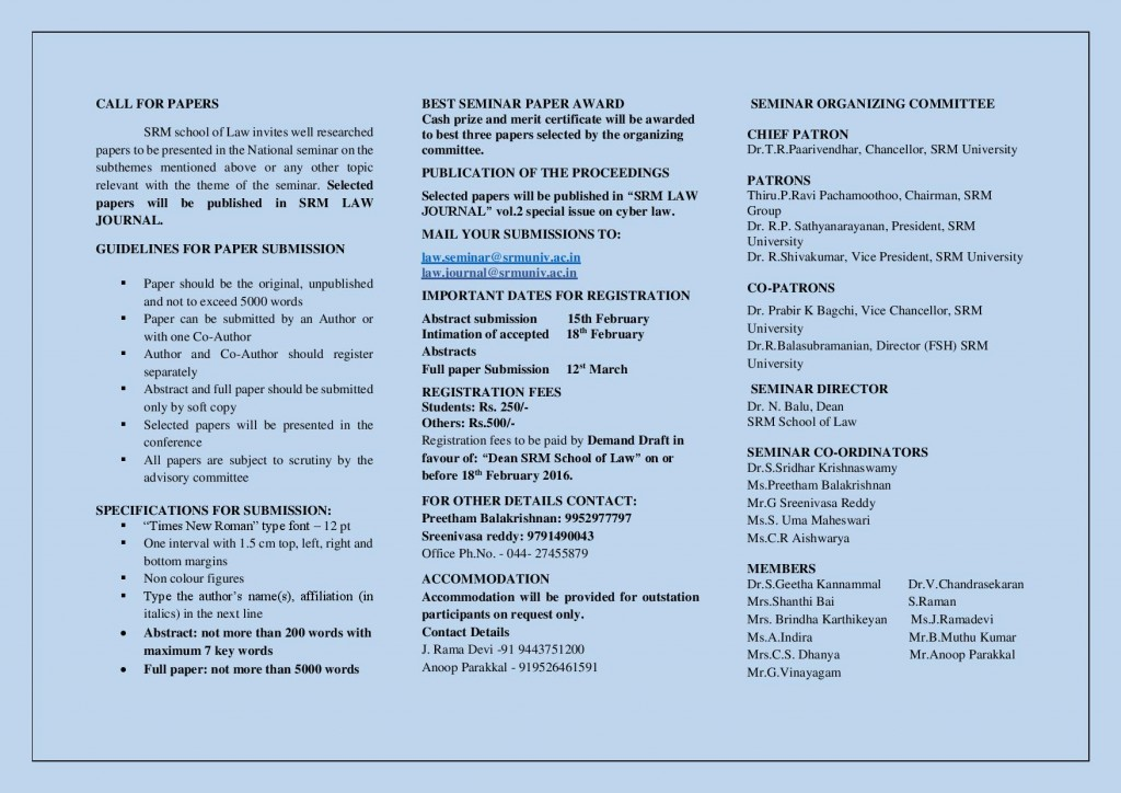 Brochure - National seminar - cyber law-page-002