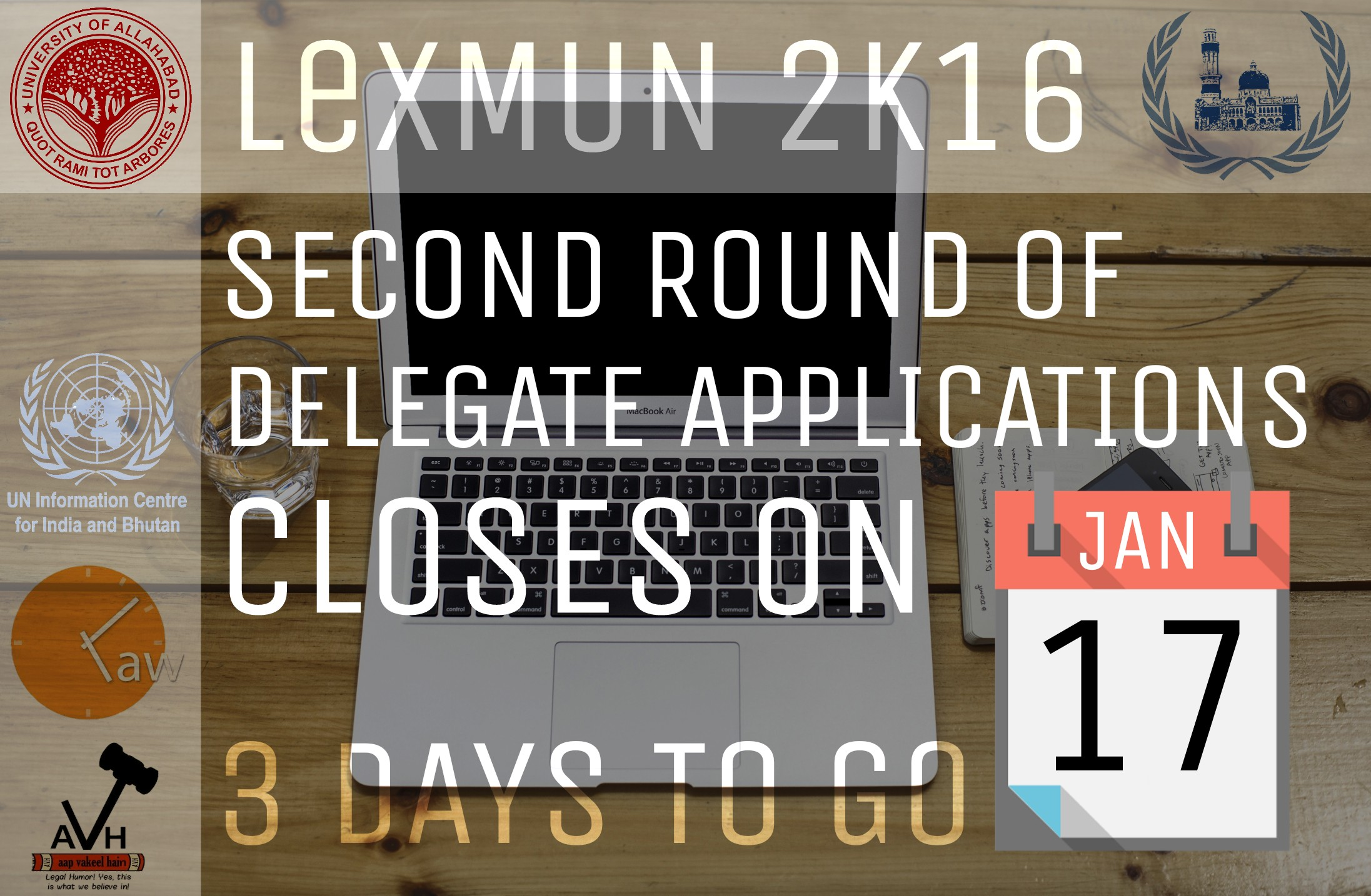 Faculty of law, University of Allahabad's Lex MUN Conference, 2016