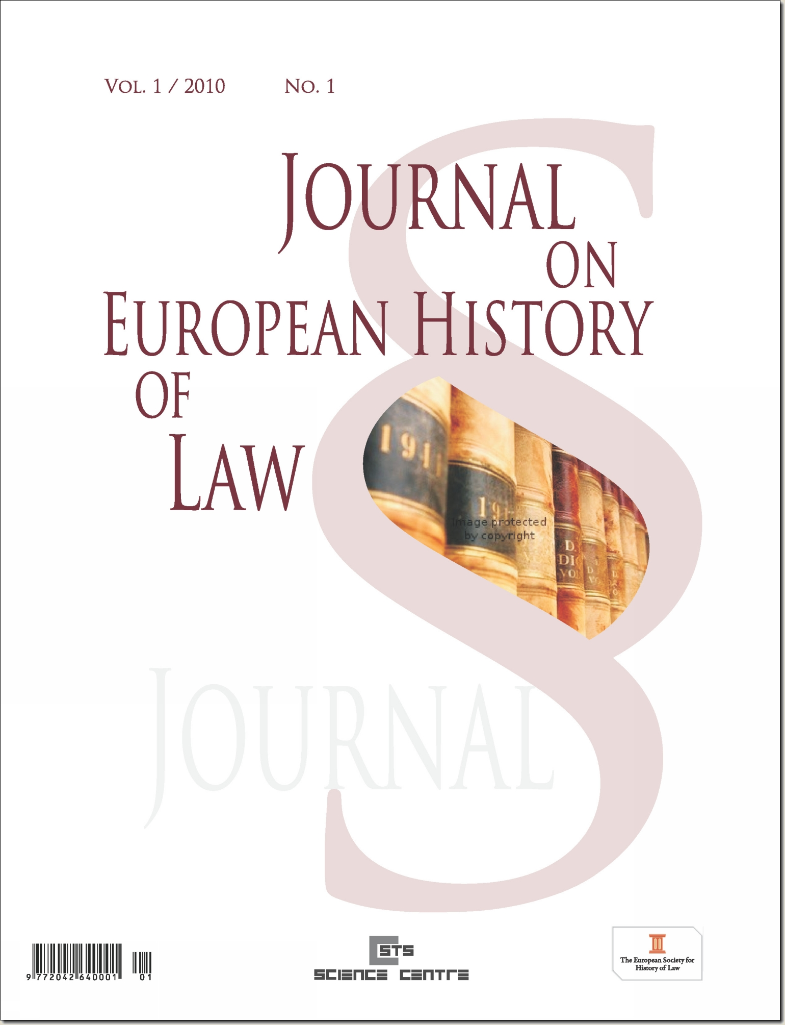 Call for Papers: Journal on European History of Law
