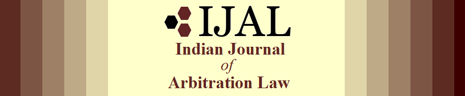 Call for Papers: NLU Jodhpur's The Indian Journal of Arbitration Law