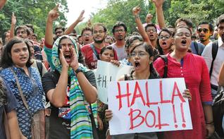 13 Faculty Members, 263 Students of NALSAR Hyderabad Issue a <b>Statement in Solidarity with JNU Students </b>
