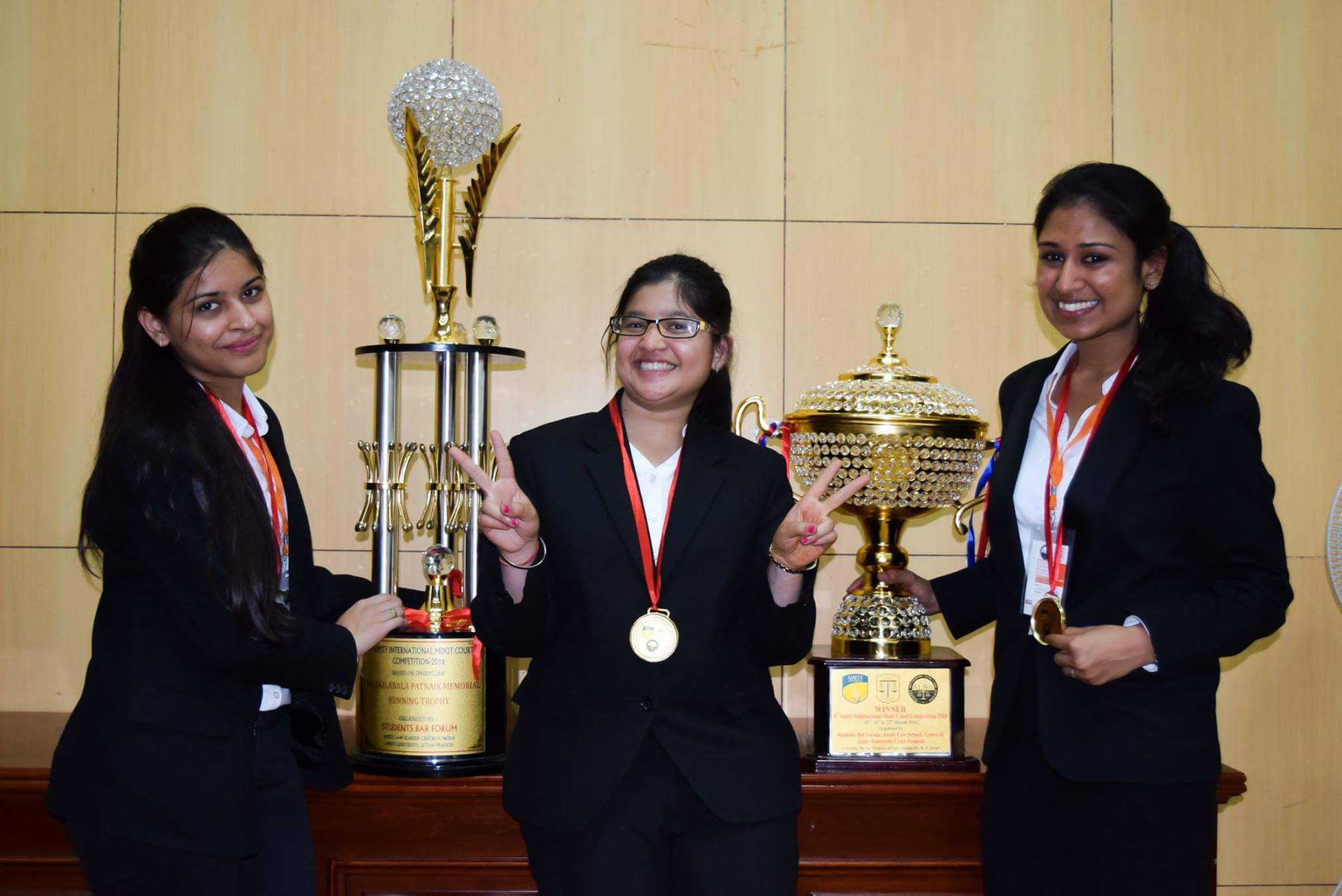 Interview: <b>Winning Team [RGNUL Patiala]</b> of 4th Amity International Moot Court Competition 2016