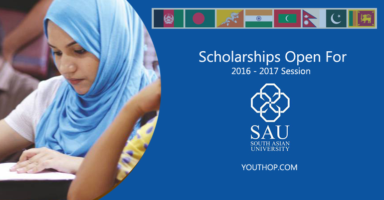 South Asian University Scholarships 2016-2017
