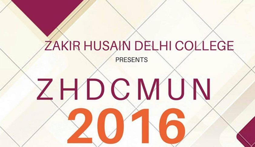 Zakir Hussain Delhi University's 1st Model United Nations