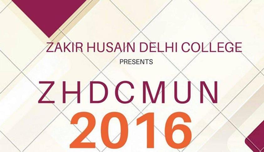 Zakir Hussain Delhi University's 1st Model United Nations