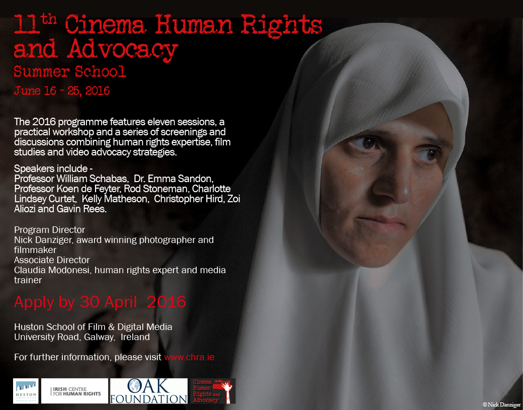 Call for Applications: 11th Cinema, Human Rights and Advocacy Summer School